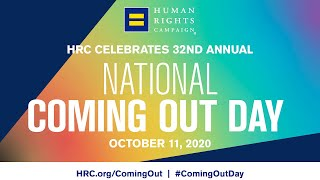 HRC Celebrates National Coming Out Day 2020