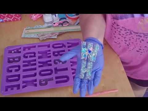Resin Letter Molds