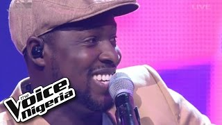 """Patrick sings """"All Of Me"""" / Live Show / The Voice Nigeria 2016"""