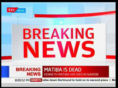 BREAKING NEWS: Kenneth Matiba dies at the age of 85 in a Nairobi hospital