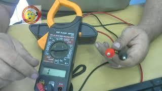 Como utilizar o Alicate Amperímetro