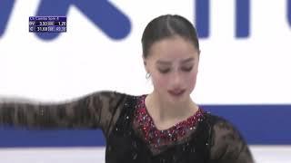 Алина Загитова Гран при NHK Trophy Короткая программа
