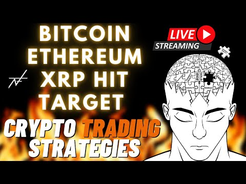 BITCOIN LIVE: XRP LIVE: CRYPTO TRADING STRATEGIES: (APRIL 13)