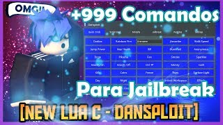 ✔️ [New + 999 commands] Dansploit ✔️ | To JAILBREAK and more! | Roblox tutorial in Spanish