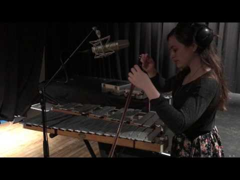 Recording Bowed Xylophone in An Tobar, Mull