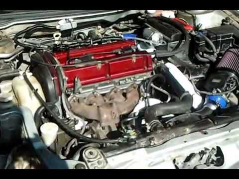 First start Eclipse 4g64 turbo EVO head