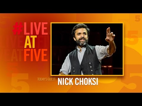 Broadway.com #LiveatFive with Nick Choksi of THE GREAT COMET