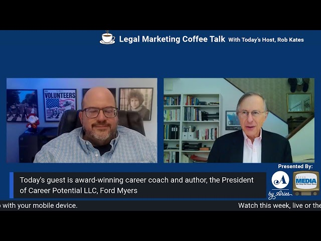 Perpetual Career Management Interview with Rob Kates – Career Coach Ford R. Myers – Career Potential
