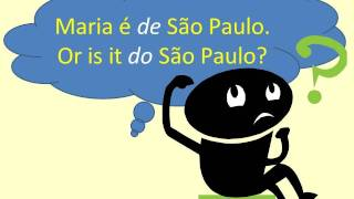 Baixar Portuguese Lesson: De São Paulo, Do Brasil - Learn How to Say It Right