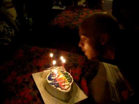 Patrick's Phish Birthday Cake