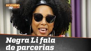 Negra Li revela que está tentando reunir Iza, Ludmilla e Karol Conká em música e clipe