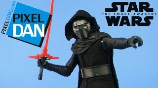 "Star Wars Kylo Ren Black Series The Force Awakens 6"" Figure Video Review"
