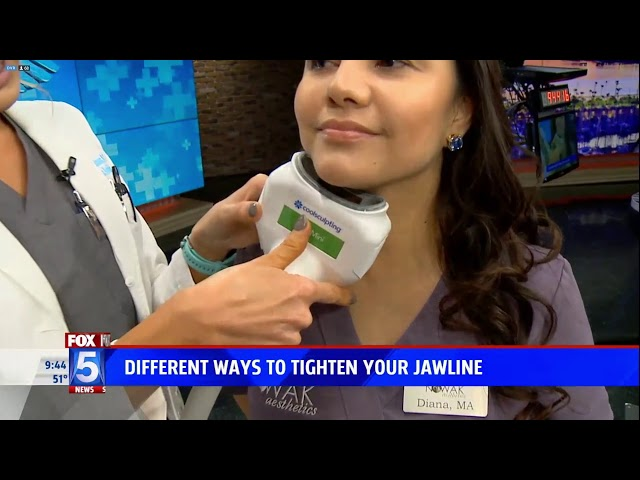 Fox 5 San Diego - How To Get A Tighter Jawline