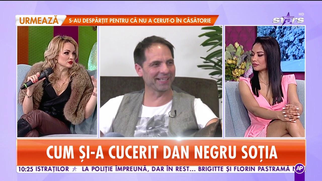 """Dan Negru, dezvăluiri din viața de familie: """"Ne-am căsătorit doar noi și familia"""""""