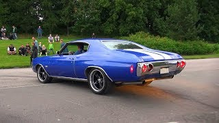 BRUTAL '72 Chevelle SS 502cid Big Block SOUND & BURNOUTS!!