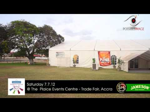 FashionistaGH Shopping Festival   Venue  The Plaice Events Centre - Trade Fair, Accra #fghshop