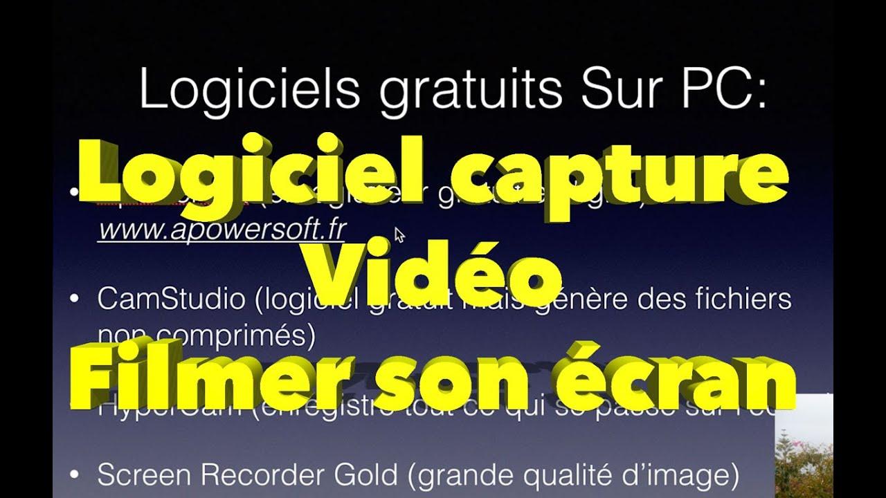 logiciel de capture vid o pour filmer son cran pc mac comment faire des vid os youtube 3 3. Black Bedroom Furniture Sets. Home Design Ideas