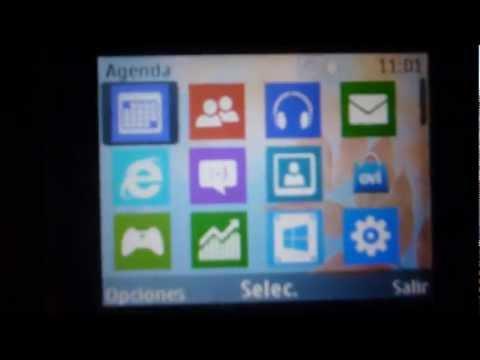 Tema de Windows 8 Para Nokia C3, X2-01 & Asha 200,201,302 y android