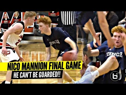 U Can't Guard Nico Mannion!! Nico Makes It Look EASY In Final Regular Season Game!!