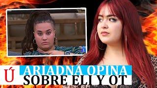 ¡Vas a flipar! Ariadna se moja y habla de Eli tras salir de OT 2020