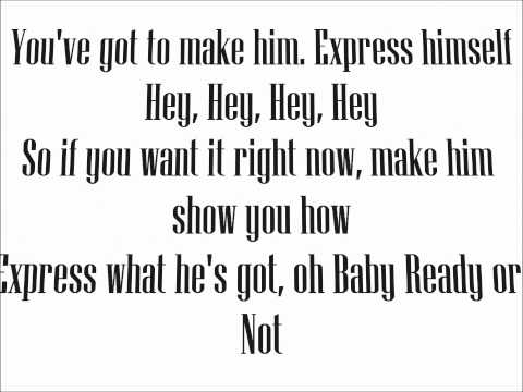 Madonna Express Yourself (Lyrics On Screen + HD)