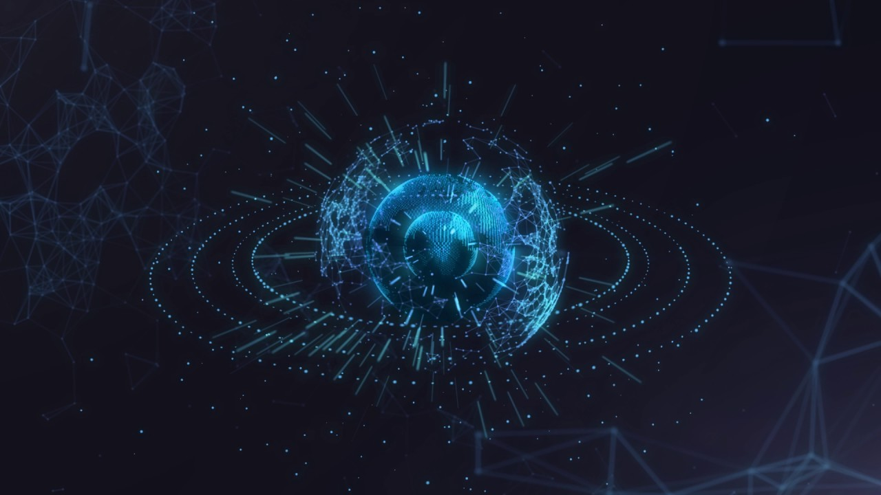 After Effects Globe Trapcode Form Plexus Trapcode Particular