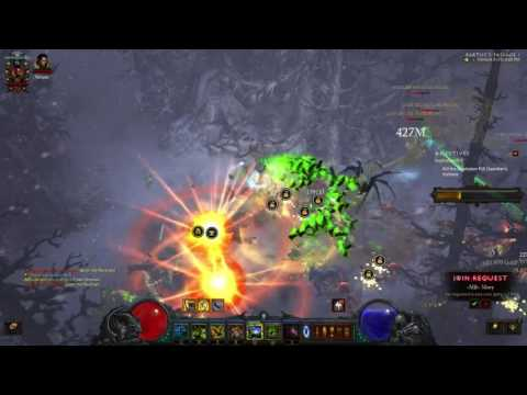 darad0 plays Diablo 3 - SEASON 6 - Witch Doctor Angry Chicken Speed Farming