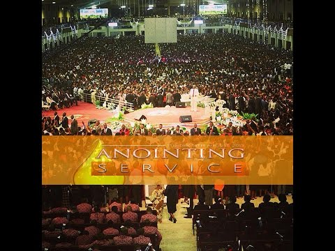 Live-Bishop David Oyedepo-Anointing Services