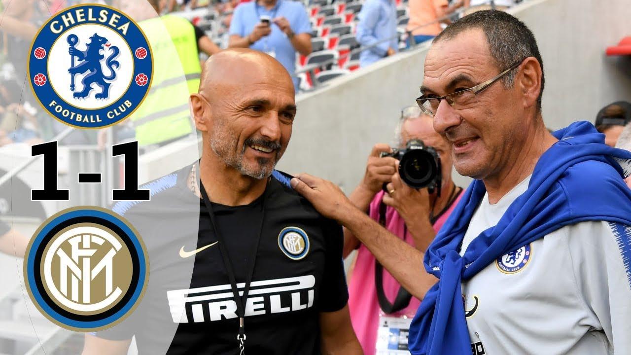 Download Chelsea vs Inter 1-1 (5-4) All Goals & Highlights 2018
