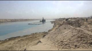New Suez Canal Sector East Dredging Drilling and April 1, 2015