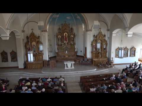 St. Peter Catholic Church Mass Of Dedication in Slinger, WI