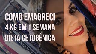 Dieta Cetogênica - Como Emagreci 4 kg em 1 semana