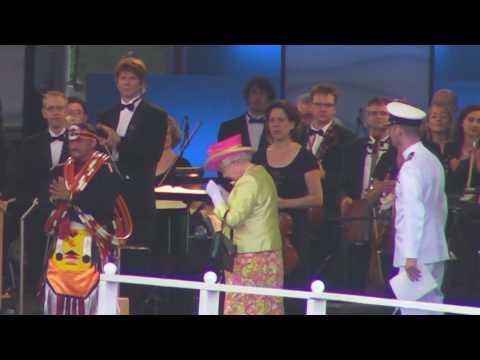 Queen Elizabeth II Dedicating the Canadian Museum of Human Rights