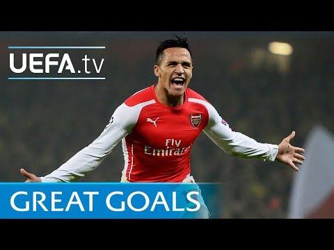 Alexis Sánchez – Five great goals