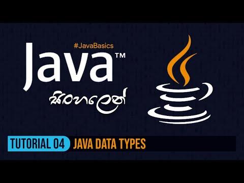 java-සිංහලෙන්---tutorial-4-|-java-data-types