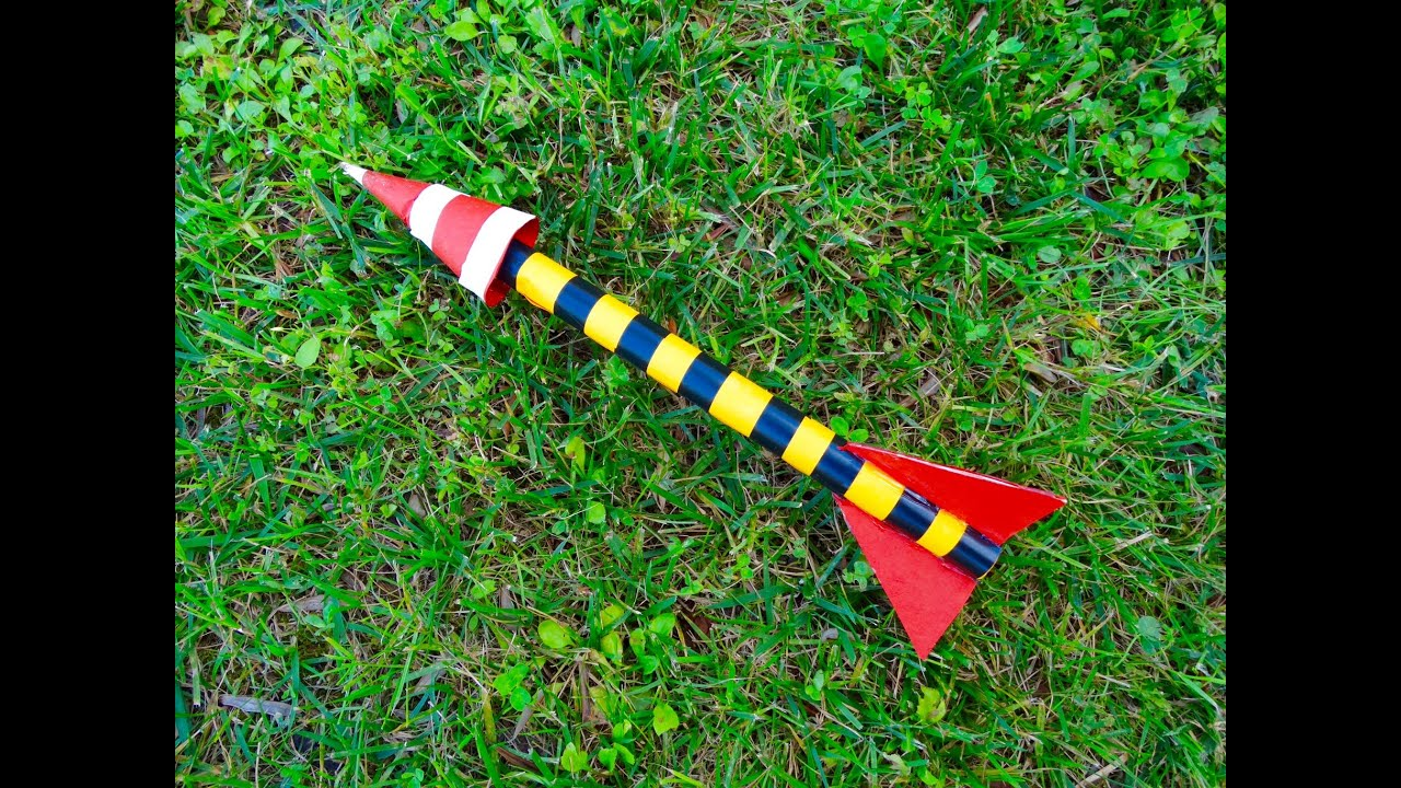 How to make a paper rocket that fly easy rocket launcher you can how to make a paper rocket that fly easy rocket launcher you can do at home diy youtube solutioingenieria Image collections