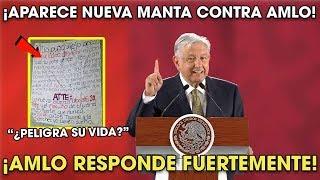 AMLO Manda Mensaje por la Nueva Manta en su Contra en Tijuana ¡Mira lo que dijo!