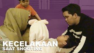 Kecelakaan Ketika Shooting, Perut Muntaz Berdarah #GenHalilintar Reality