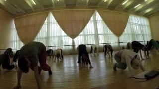 House Dance Intensive/2014/Алиса Панченко/Урок-Партер