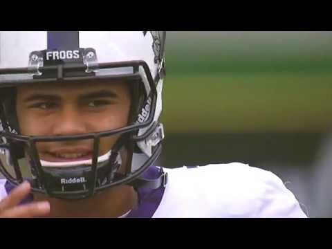 TCU QB Kenny Hill 16 -17 Junior Highlights
