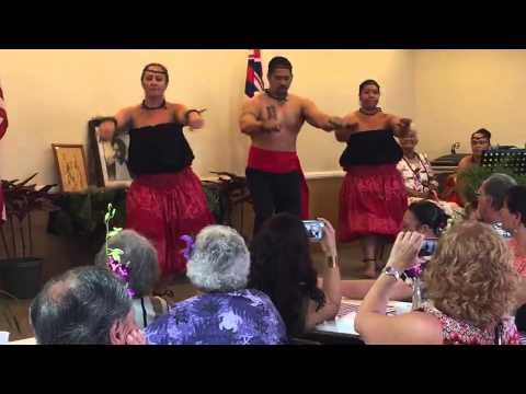 Jean Kalani Dancers performing for Ahahui Kiwila Hawaii o SanDiego PK Celebration.