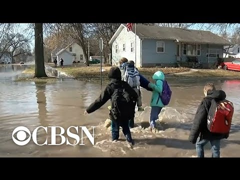 Jo Jo - Heavy Flooding In Midwest From Melting Snow!