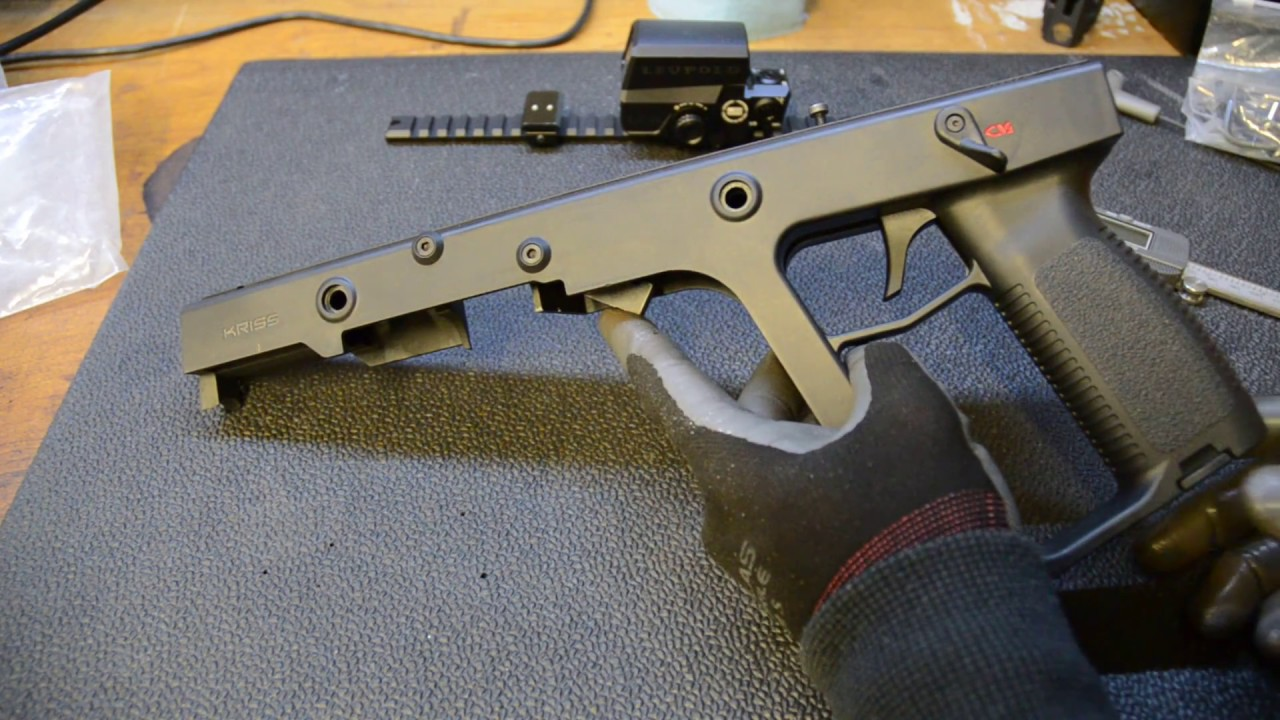 Kriss Vector Trigger Upgrade - Simple and Inexpensive