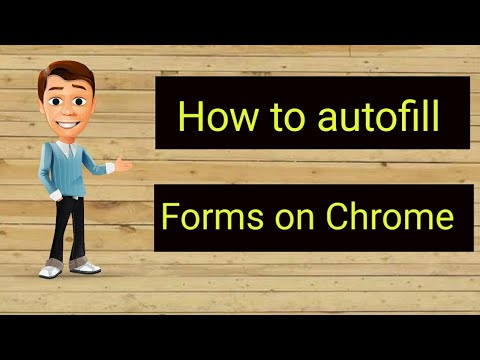 Autofill For Google Chrome   How To Fill Forms Automatically In Google Chrome