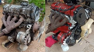 Mitsubishi Lancer Engine Full Restoration (1978)
