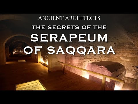 The Secrets of the Serapeum of Saqqara in Egypt | Ancient Architects