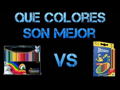Prismacolor vs Colores norma prt1