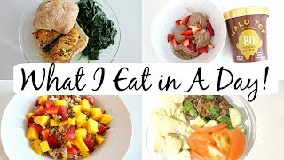 What I Eat in a Day to Lose Weight + Meal Prep | realistic? healthy?