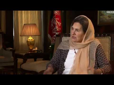 Interview With First Lady Of Afghanistan  Rula Ghani - Reporter Sana Safi BBC