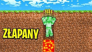 ZIELONY STEVE ZŁAPANY W PUŁAPKĘ! | Minecraft Ferajna
